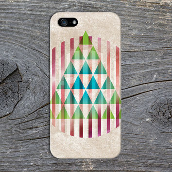 Geometric Christmas Tree x Ruby Red Ornament Phone Case for iPhone 6 6 Plus iPhone 5 5s 5c 4 4s Samsung Galaxy s6 s5 s4 & s3 and Note 5 4