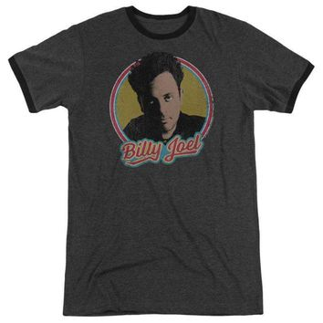 Mens Billy Joel Retro Ringer T-Shirt