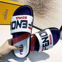 Fendi Fashion Slippers Shoes