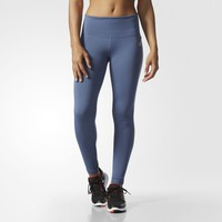 adidas Performer Mid-Rise Long Tights - Tech Ink | adidas US