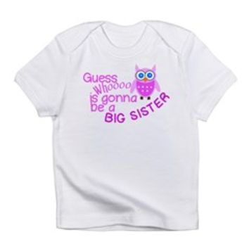 Big Sister Announcement Infant T-Shirt> Big Sister Announcement> The Kids Corner