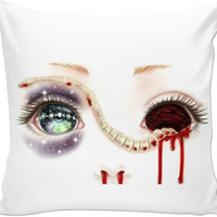 Creepy Couch Pillow