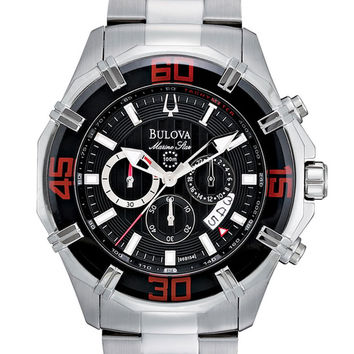 Bulova 96B154 Men's Marine Star SS Chronograph Watch