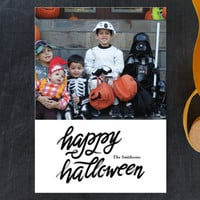 Script Halloween Halloween Postcards by aticnomar | Minted