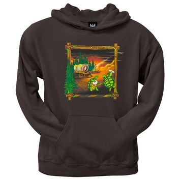 Grateful Dead - Covered Wagon Chocolate Pullover Hoodie
