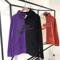 NIKE Fashion Multicolor Hoodie Top Sweater Pullover