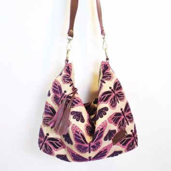 Butterfly Effect Hobo Bag
