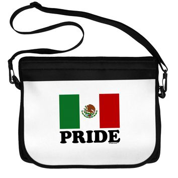 Mexican Pride - Mexican Flag Neoprene Laptop Shoulder Bag by TooLoud
