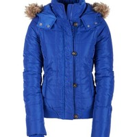 aeropostale womens quilted puffer jacket