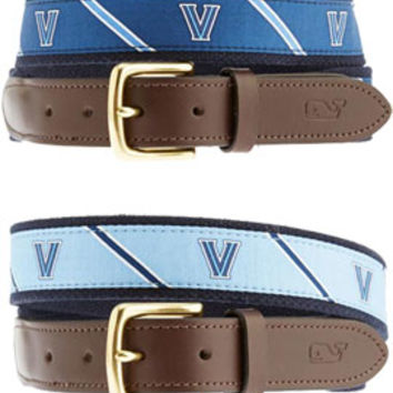 1407F Club Belt Vineyard Vines | Villanova University