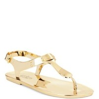 Shoes | Sandals | MK Plate Jelly Thong Sandals | Lord and Taylor