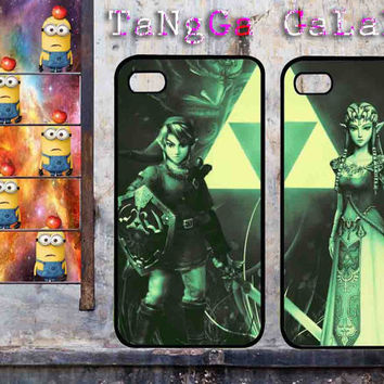 iphone case,Zelda love princess couple,iphone 5 case,iphone 4/4s case,samsung s3,s4 case,accesories,cell phone,hard plastic.