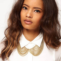 New Fashion Gold Necklace Chains Collar with Clasp.