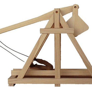 new (20% off ) fruit Trebuchet kit 3 ft tall great toy, comes with optional toy slingshot