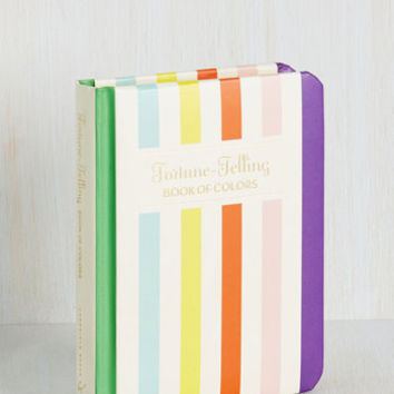 Fortune-Telling Book of Colors by Chronicle Books from ModCloth