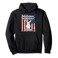 Q Anon Hoodie- The Storm Is Here The White Rabbit