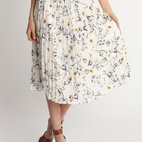 Dance With Me Pleated Skirt | Ruche