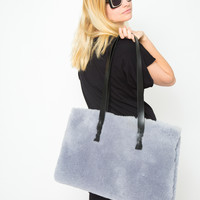 LAURA SCHOORL | Sheep Tote-Blue