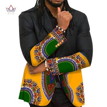 Mens Blazers Jackets  Dashiki Print