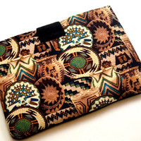 "Aztec Tablet Case/ 10 "",9"",8""Tablet Case/iPad Case/ Microsoft Surface Tablet/ Samsung Galaxy Sleeve/ Kindle Fire HD Case/ Nexus Case"