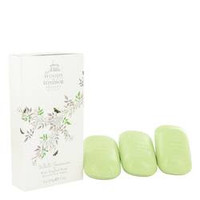 White Jasmine 3 x 3.5 oz Soap By Woods of Windsor