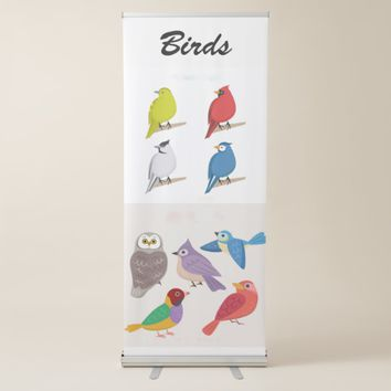 Birds Retractable Banner