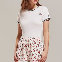 DCCKVE6 Champion + HVN for Urban Outfitters Cherry Track Short | Urban Outfitters