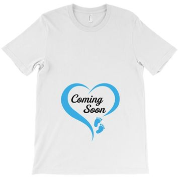 coming soon baby boy maternity design T-Shirt