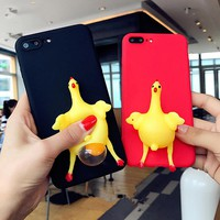 Squishy Hen Lay Egg Case for iPhone