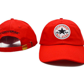 Perfect Converse Women Men Embroidery Baseball Cap Hat Sports Sun Hat