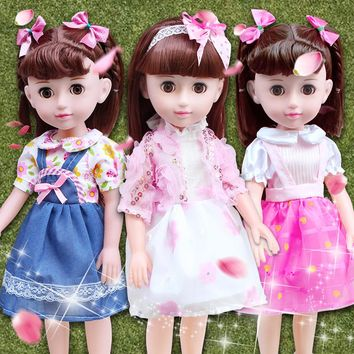Toys For Girls Talking Smart Doll Suit Baby Doll Girl Toy Princess Emulation Silicone Dolls Reborn