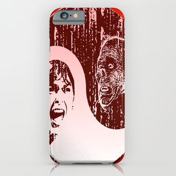 Yin Yang Horror - phone case