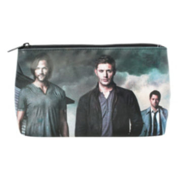 Supernatural Cast Cosmetic Bag