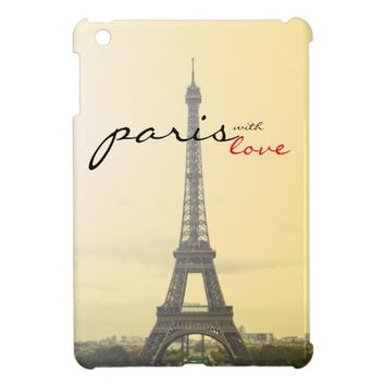 Paris with Love iPad Mini Covers
