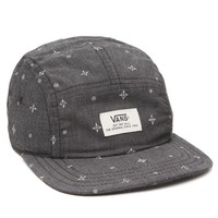 Vans Davis 5 Panel Camper Hat - Mens Backpack - Black - One