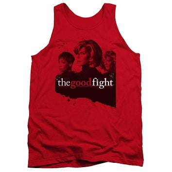 The Good Fight Tanktop Cast Red Tank
