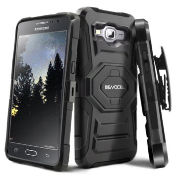 Evocel Galaxy Grand Prime [New Generation] Rugged Holster Dual Layer Case [Kicks