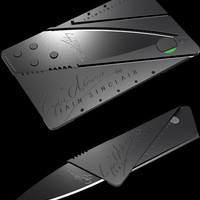 Ultra thin & credit card gadgets - knives, flashlights, cameras