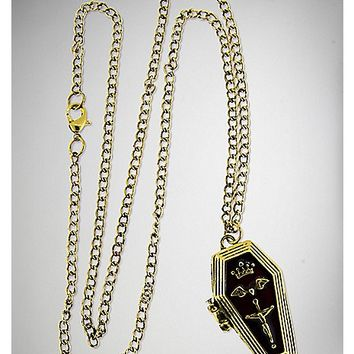 Hinged Coffin Necklace - Spencer's