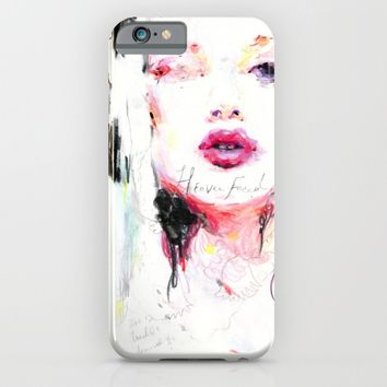 Heavenfaced iPhone & iPod Case by Charmaine Olivia