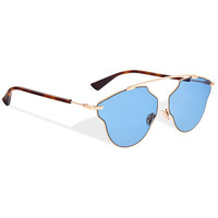 """dior so real pop"" sunglasses, blue - Dior"