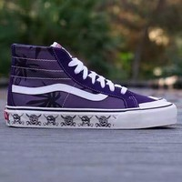 Trendsetter Vans SK8-HI Classic Canvas Flats Sneakers Sport Shoes