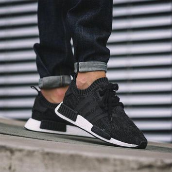 PEAPNW6 Sale Adidas NMD R1 Primeknit Winter Wool BB0679 Boost Sport Running Shoes Classic Casual Shoes Sneakers