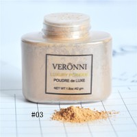 VERONNI Banana Loose Powder 42g Luxury Mineral Powder Matte Foundation Powder Concealer Makeup Cosmetics