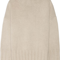 The Row - Meme oversized merino wool and cashmere-blend sweater