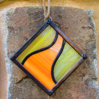 Stained Glass Suncatcher, Beyond the Yellow Brick Road