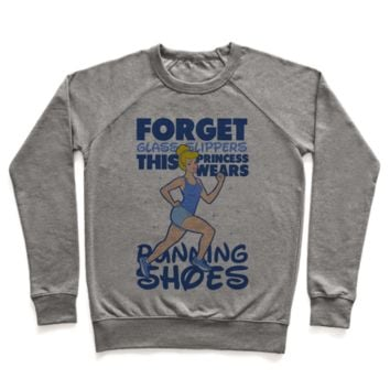 Forget Glass Slippers This Princess Wears Running Shoes Sweatshirt