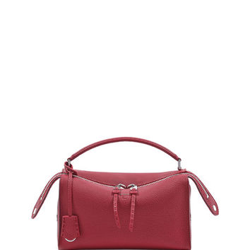 Fendi Selleria Lei Roman Calf Boston Bag
