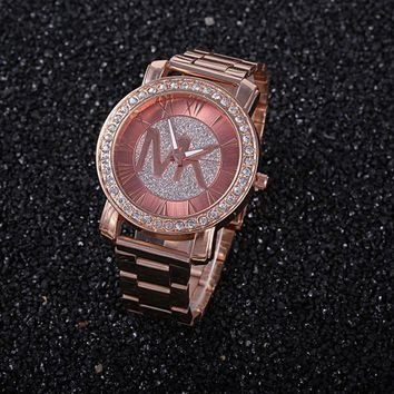 MK Stylish Fashion Casual Designer Watch ON SALE With Thanksgiving Rose Golden G