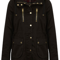 Hooded Lightweight Jacket - Topshop USA